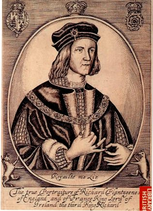 Richard III, King of England. | Courtesy of the British Library.