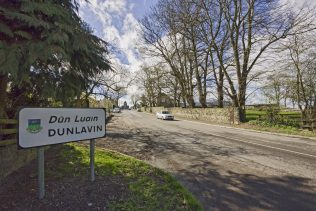 Road into Dunlavin with Market Square House in the distance | Dunlavin Tidy Tows