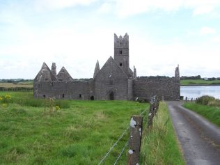 Rosserk friary, located along the shores of Killala Bay in north Mayo. | Yvonne McDermott