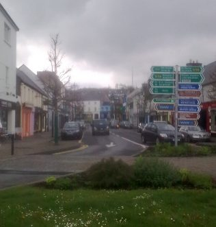 Shop Street Westport | Author Personal Photo