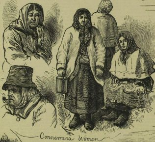 Connemara Women, by Harry Furniss. | Illustrated London News, 31 January 1880, p. 116.