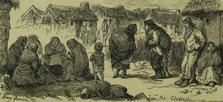 The Claddagh, by Harry Fruniss. | Illustrated London News, 31 January 1880, p. 116.
