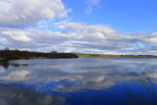 Sky reflected on water | Roundwood Tidy Towns
