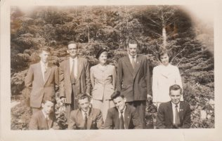Smyth Family, Straide, Back L-R T.J. Thomas & Bridgid, Michael, Teresa, Front - Malachy, Joe, Johnnie and Paddy. | Author, personal collection.