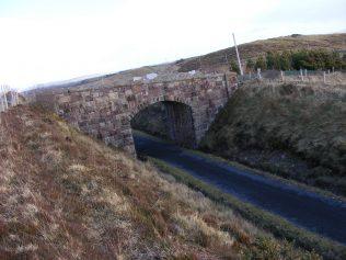 Carrowsallagh Railway Bridge in 1940s | Peggy Cadden