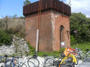 The Remains of the Water Tower at Mulranny Station