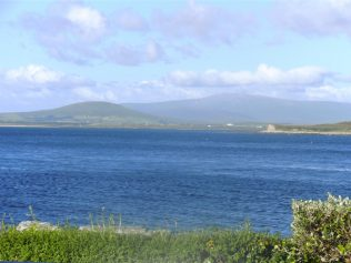 View  of North Mayo from Dooniver