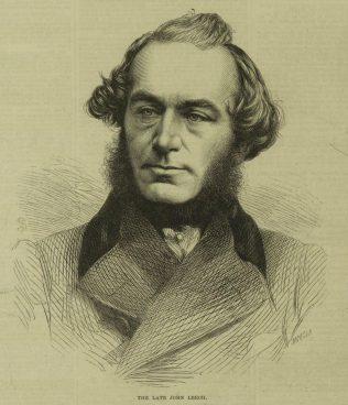 The Late John Leech. | Illustrated London News, 19 Nov, 1864.
