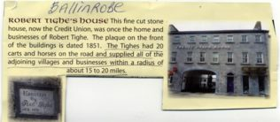 The Ballinrobe Business | Courtesy of Ballinrobe Heritage Walk