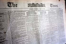 The Times Newspaper | commons.wikimedia.org
