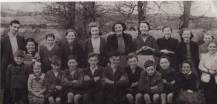 Teacher and Class c 1957   Personal Collection