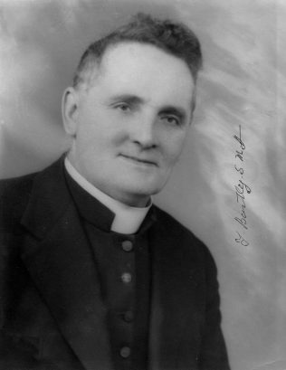 Fr. Tom Bartley, S.M.A. | Author's family photograph collection