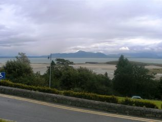 View Of Clew Bay from Mulranny Hotel