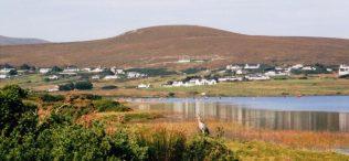 View of Crumpaun from Keel Lake