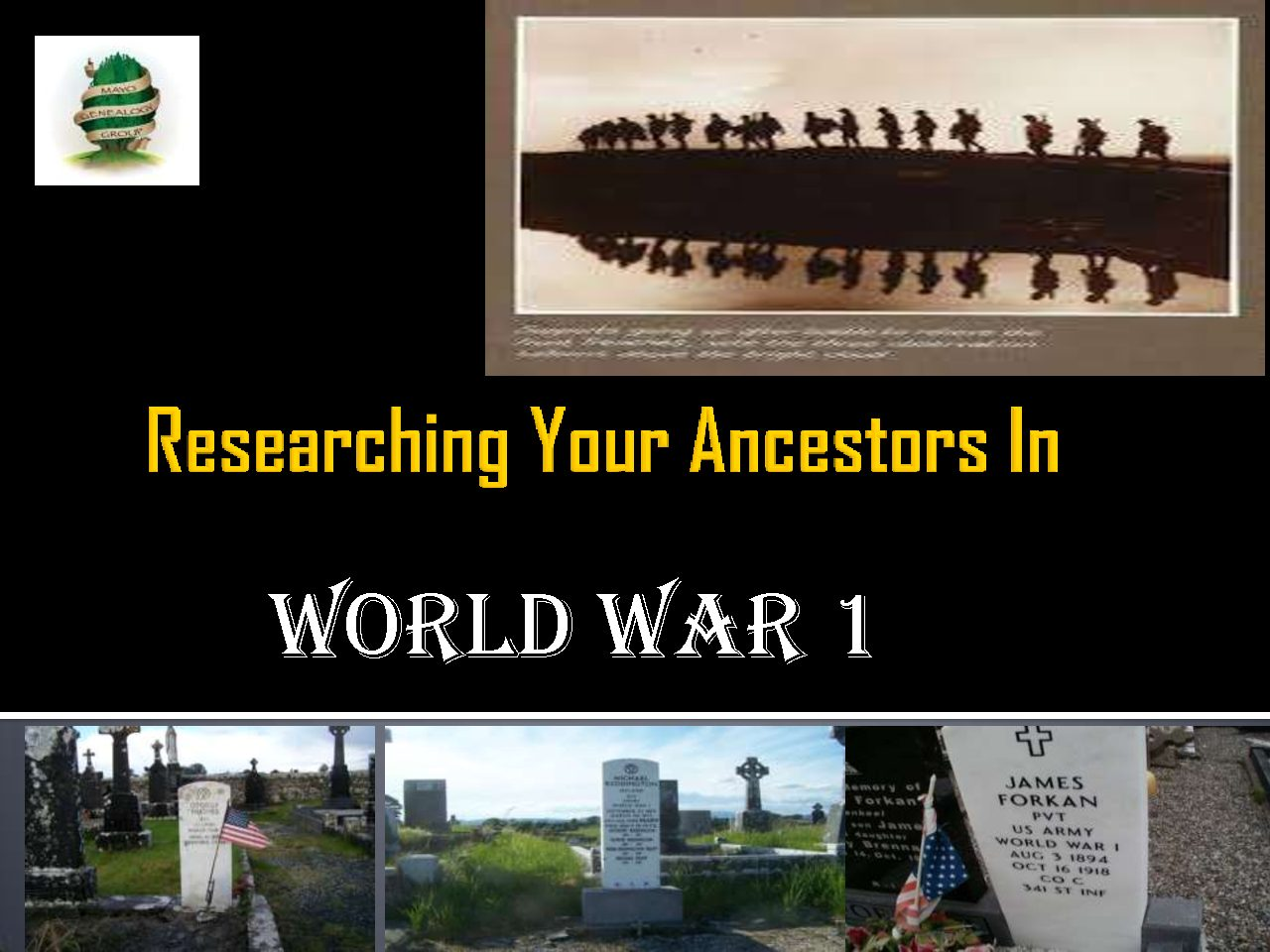 Genealogy Presentations