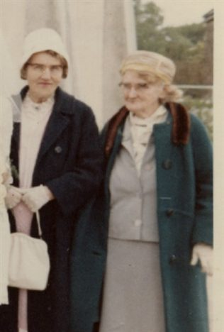 Maggie and her twin sister Annie | Moran Family