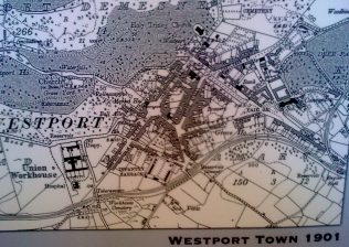 1901 Westport Map | Author Personal Photo