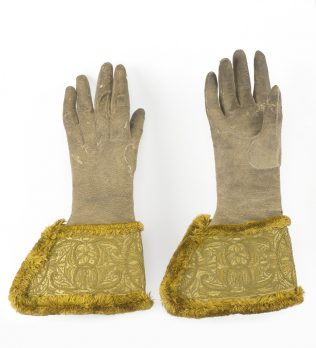 Object No. 65 King William's gauntlets, c.1690 | National Museum of Ireland - Decorative Arts and History