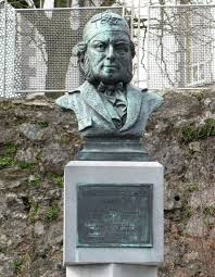 W.V.Wallace bust outside Waterford Theatre | commons.wikimedia.org