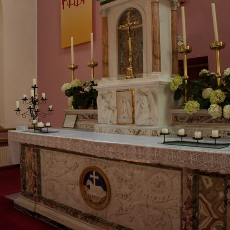Altar at Roevehagh | Catherine O'Dowd