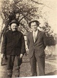 Richard Brennan, son of Bridget on right | Author, personal collection