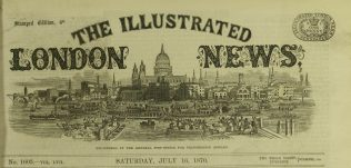 Masthead of the Illustrated London News. | Illustrated London News, 16 July 1870.