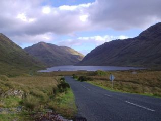 Doolough Fishery, many of James Berry's tales of Hardship & Famine are based in this area. | www.hirab.co.uk