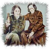 Artist's Impression of Harriet Gardiner and Susanna Pringle | www.museumsofmayo.com