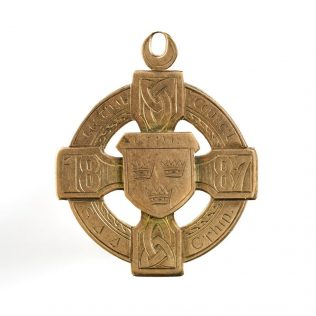 Object No.87 GAA medal, 1887 | National Museum of Ireland - Decorative Arts & History