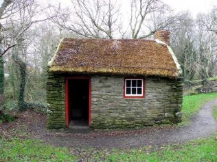 Thatched roofing long ago