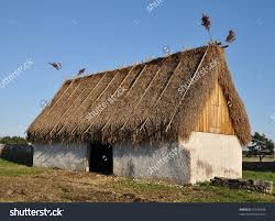Images of thatching style long ago