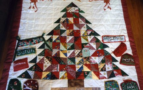 Our Patchwork Christmas Tree