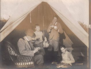 Glamping in the 1900s