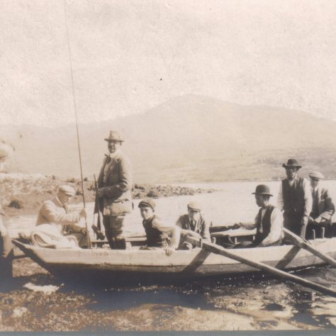 A fishing trip on the Killary