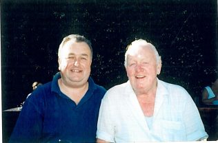 Peter & Michael at Johnny Fox's Pub Wicklow Mountains 24.8.03 | Bea O'Grady