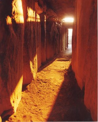 Winter Solstice inside Newgrange | National Monuments Division, Office of Public Works
