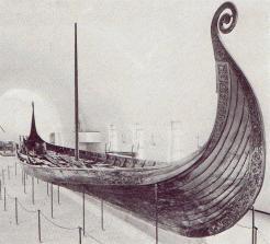 Object No. 35 Oseberg ship, c.815 | oslo Museum of Cultural History