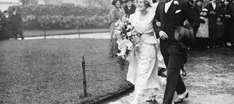 Weddings 100 years ago