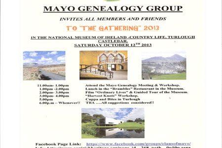 Mayo Genealogy Group 'Gathering'