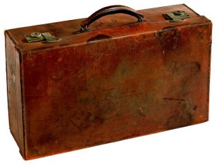 Object No. 95 Emigrant's suitcase. | National Museum of Ireland - Country Life